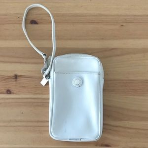 Coach iPhone Mobile Device Holder Wristlet